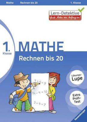 Lern-Detektive - Gute Noten von Anfang an!; 1. Klasse Mathe, Rechnen bis 20