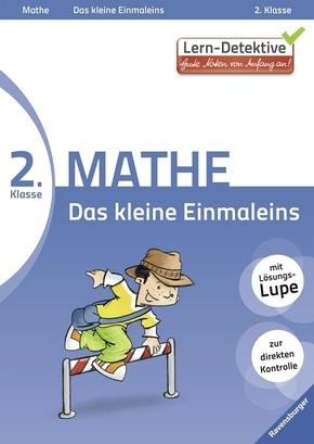 Lern-Detektive - Gute Noten von Anfang an!; 2. Klasse Mathe, Das kleine Einmaleins