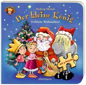 Der kleine König - Fröhliche Weihnachten, Puzzlebuch