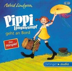 Pippi Langstrumpf geht an Bord, 2 Audio-CDs