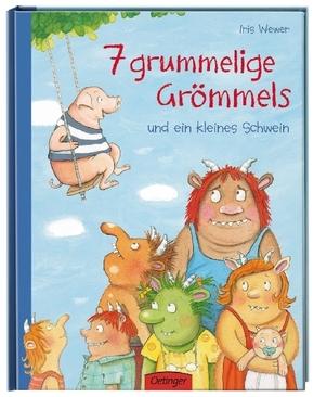 7 grummelige Grömmels und ein kleines Schwein