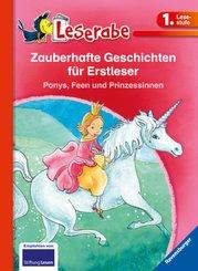 Zauberhafte Geschichten für Erstleser. Ponys, Feen und Prinzessinnen; .