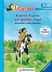 Kleiner Fuchs auf großer Jagd - Leserabe 2. Klasse - Erstlesebuch für Kinder ab 7 Jahren