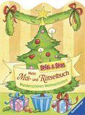 Mein Mal- und Rätselbuch - Wunderschönes Weihnachtsfest