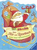 Mein Mal- und Rätselbuch - Komm, lieber Weihnachtsmann