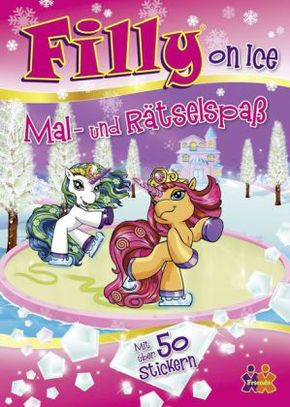 Filly On Ice, Mal-und Rätselspaß