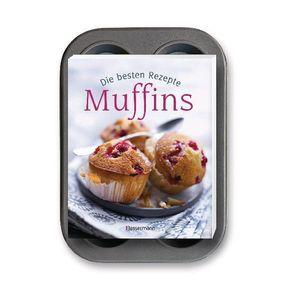 Muffins: Die besten Rezepte, m. 6-er Muffinsblech
