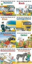Pixi Bücher: Was ich mal werden will (8x1 Exemplar), 8 Teile.
