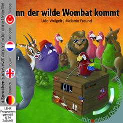 Wenn der wilde Wombat kommt, m. DVD
