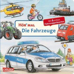 Hör mal: Die Fahrzeuge, m. Tonmodul