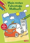 Mein erstes Fahrzeuge-Malbuch