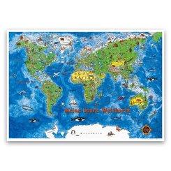 Meine bunte Weltkarte, Kinderweltkarte