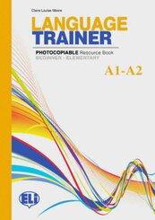 Language Trainer: Resource Book, w. Audio-CD
