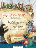 Arthur und Anton: Die Flaschenpost, Deutsch-Griechisch, m. Audio-CD
