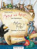 Arthur und Anton: Die Flaschenpost, Deutsch-Spanisch - Arturo y Anton: Mensaje en una botella, m. Audio-CD