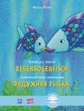 Schlaf gut, kleiner Regenbogenfisch, Deutsch-Russisch