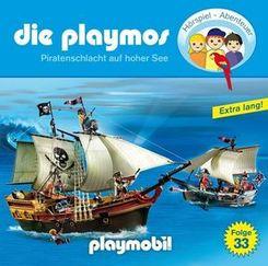 Die Playmos - Piratenschlacht auf hoher See, 1 Audio-CD