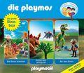 Die Playmos - Die große Dino-Box, 3 Audio-CDs