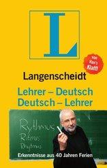 Lehrer-Deutsch / Deutsch-Lehrer