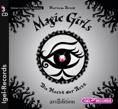 Magic Girls - Die Macht der Acht, 3 Audio-CDs