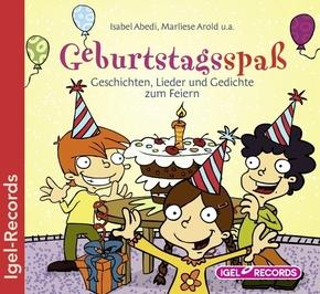 Geburtstagsspaß, 1 Audio-CD