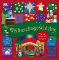 Die Weihnachtsgeschichte, m. Krippe u. Adventskalender
