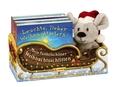 Mein funkelschöner Weihnachtsschlitten, 4 Bde. m. Plüschmaus im Weihnachtsschlitten