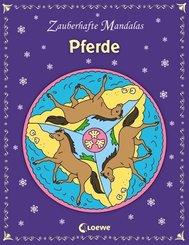 Zauberhafte Mandalas: Pferde