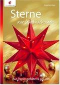 Sterne zur Weihnachtszeit - Aus Papier gefaltet & geklebt
