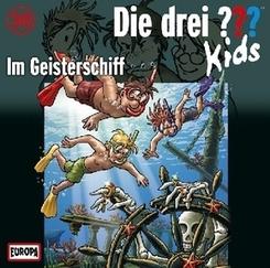 Die drei ???-Kids - Im Geisterschiff, Audio-CD
