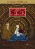 Weihnachtslieder - Chorbuch dreistimmig, Chorleiterband m. Audio-CD
