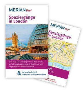 MERIAN live! Reiseführer Spaziergänge in London