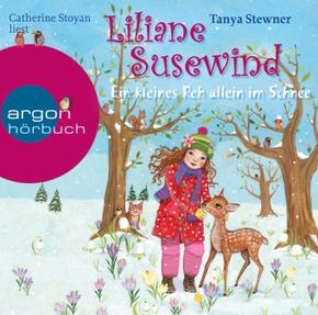 Liliane Susewind - Ein kleines Reh allein im Schnee, 2 Audio-CDs