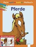 Mein kunterbuntes Malbuch, Pferde
