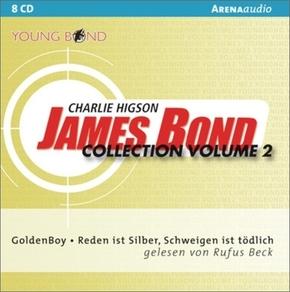 James Bond Collection, 8 Audio-CDs - Vol.2
