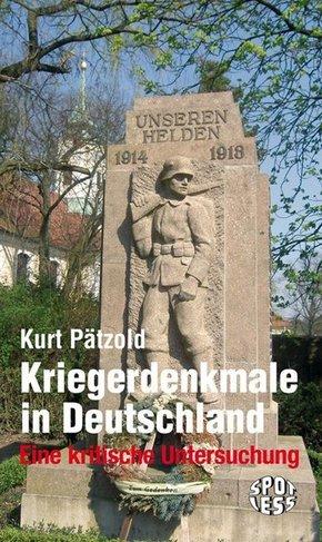 Kriegerdenkmale in Deutschland