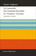 Die Göttliche Komödie; La Commedia: Paradies; Paradiso; Tl.3
