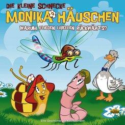 Die kleine Schnecke, Monika Häuschen, Audio-CDs: Warum fliegen Libellen rückwärts?, 1 Audio-CD; Nr.25