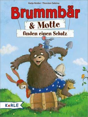 Brummbär & Motte finden einen Schatz