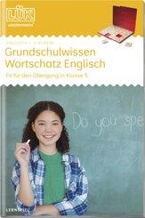 LÜK: Grundschulwissen Wortschatz Englisch, Klasse 4