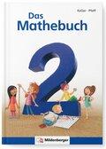 Das Mathebuch, Neubearbeitung: 2. Klasse, Schülerbuch m. CD-ROM