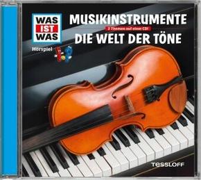 Musikinstrumente / Akustik, 1 Audio-CD - Was ist was Hörspiele