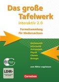 Das große Tafelwerk interaktiv 2.0, Formelsammlung für Niedersachsen, m. CD-ROM