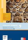 Lambacher-Schweizer, Ausgabe A, Neubearbeitung: 9. Schuljahr, Arbeitsheft plus Lösungsheft und Lernsoftware