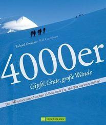 4000er - Gipfel, Grate, große Wände