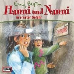 Hanni und Nanni in ernster Gefahr, 1 Audio-CD