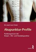 Akupunktur-Profile, m. 2 Ktn.