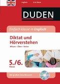Duden Einfach klasse in Englisch, Diktat und Hörverstehen 5./6. Klasse, m. Audio-CD