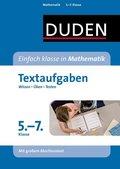 Duden Einfach klasse in Mathematik, Textaufgaben 5. bis 7. Klasse
