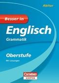 Besser in Englisch, Oberstufe; Grammatik, m. Lösungen